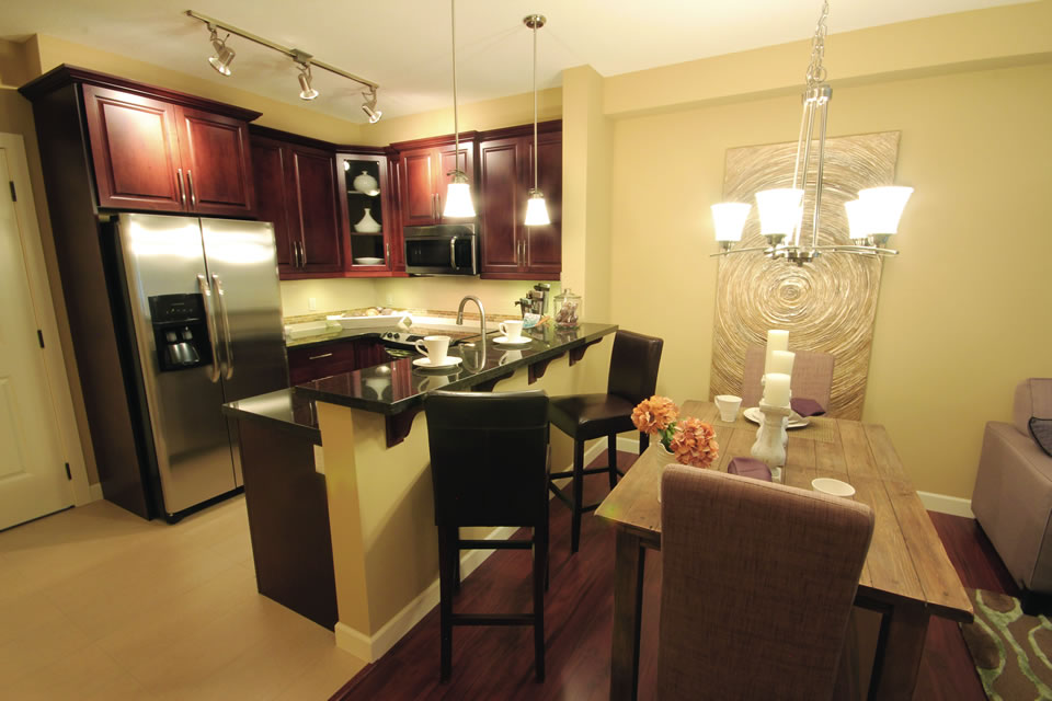 luxury rentals calgary, quality features, the gala